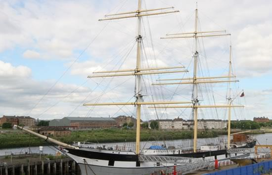 The Tall Ship at Glasgow Harbour